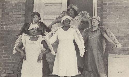 Members of a Pageant of Birds, Farish Street Baptist Church; Jackson, 1930s.jpg