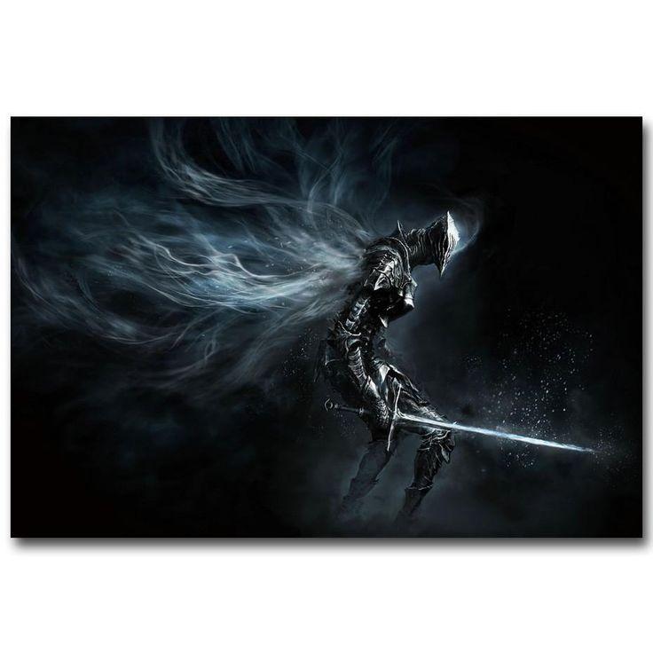 Dark Souls Silk Poster