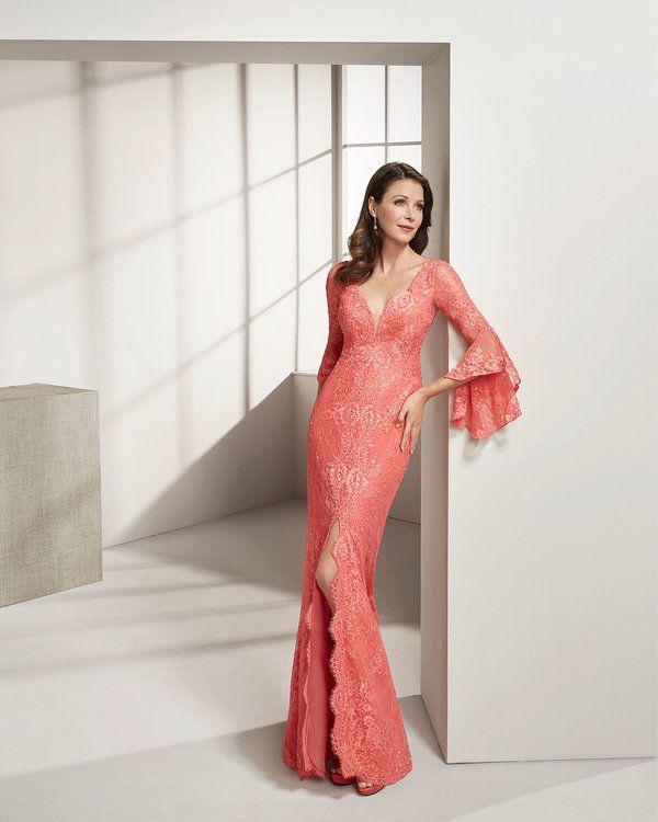 17e408d61 Más de 120 vestidos de fiesta Rosa Clará 2019. ¡Diseños para las más  sofisticadas! Image  22
