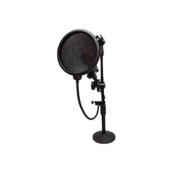 HDE 15 cm Pop Filter Shield for Blue Yeti Microphones and USB... (43 MYR) ❤ liked on Polyvore featuring microphone