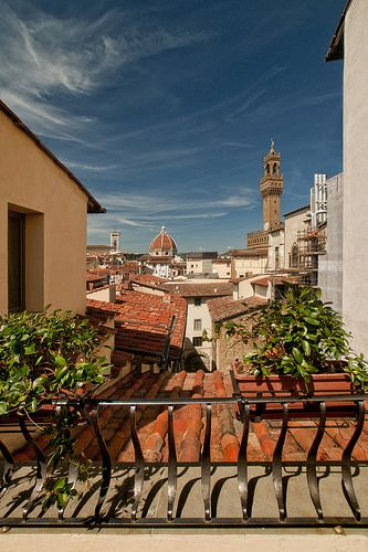 Italy - Florence - Hotel Degli Orafi - Room with a view_DSC8591   by Darrell Godliman