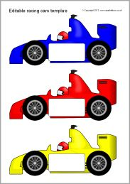 88 best images about racing vbs on pinterest cars maze for Blank race car templates