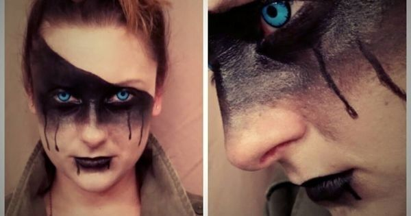 Mad Maxquot; inspired avant-garde makeup by Amber ... - mmm ...