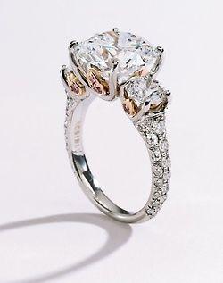 Sotheby's - Platinum, 18 karat Pink Gold and Diamonds  ~ Jewelry My Pinterest Wedding https://www.pinterest.com/joannamagrath/my-pinterest-wedding/