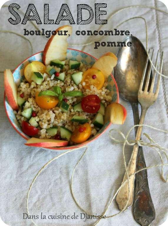 Veggie bowl : boulgour aux pommes et petits légumes