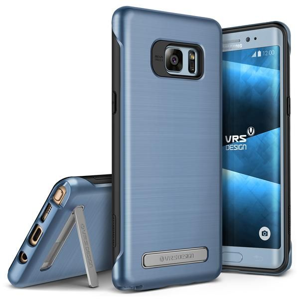 VRS Design [Duo Guard Series] Samsung Note 7 Case - Blue Coral - Main