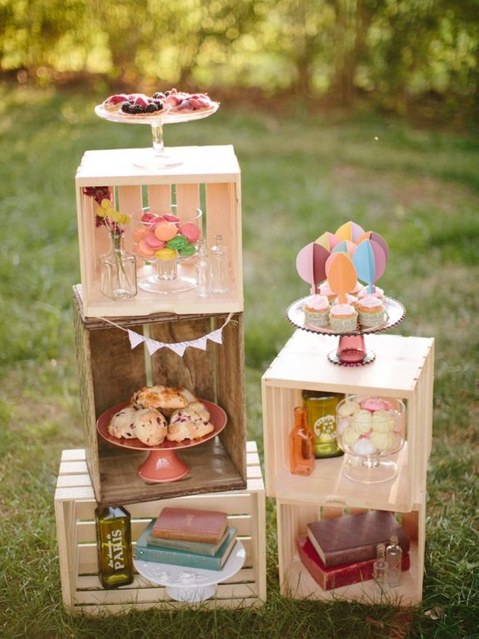 Fiancee bodas abril bodas decoracion de bodas con caja de for Decoracion de cajas