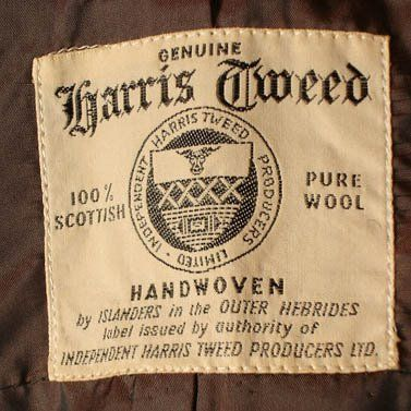Cool label - Harris Tweed Authority needs to revive