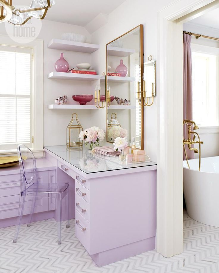 Dream Space: Feminine dressing room {PHOTO: Virginia Macdonald}