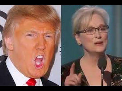 Donald Trump  Trump responsed to  Meryl Streep