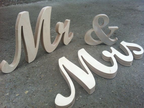 1000+ Images About Mr And Mrs Wedding Signs On Pinterest
