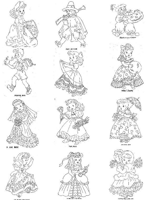 374 best Vintage Embroidery Transfer Designs & Quilt Patterns ... : hand embroidery patterns for baby quilts - Adamdwight.com