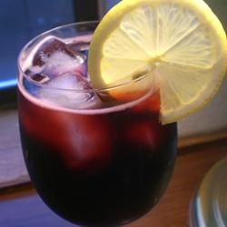 Kalimotxo (Calimocho) is a popular drink in the Basque region of Spain. It's part red wine, part coke (I use diet pepsi) and really tasty!.....love this...it's a new fave!;)