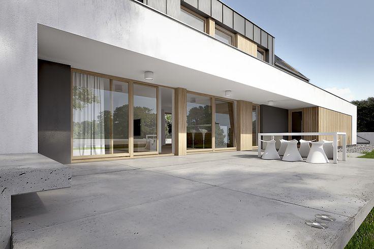 modern terrace