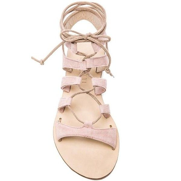 CoRNETTI Recommone Gladiator Sandals Shoes found on Polyvore
