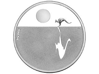 $1 Silver prrof coin. This breathtaking design is one of the Royal Australian Mint's most iconic and sought-after creations. With a lone kangaroo crossing the desolate landscape, this celebrated coin is proudly and quintessentially Australian.  Since its first annual release in 2010, the silver Kangaroo at Sunset coin has been highly desired by coin collectors in the domestic and international markets. #coincollecting