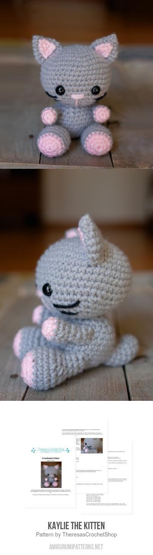 Kaylie The Kitten Amigurumi Pattern