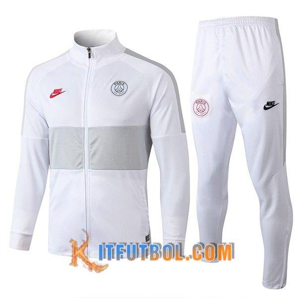 Día del Niño explosión itálico  Nueva Chandal Futbol - Chaqueta + Pantalones PSG NIKE Blanco 19/20 | Ropa  gym hombre, Ropa de gimnasia para hombre, Moda ropa hombre