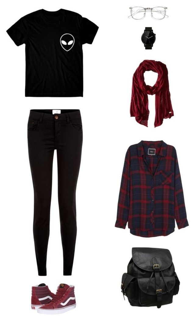 """""""Untitled #77"""" by priliscaa on Polyvore featuring Rails, New Look, AmeriLeather, Vans, Cole Haan and Motorola"""