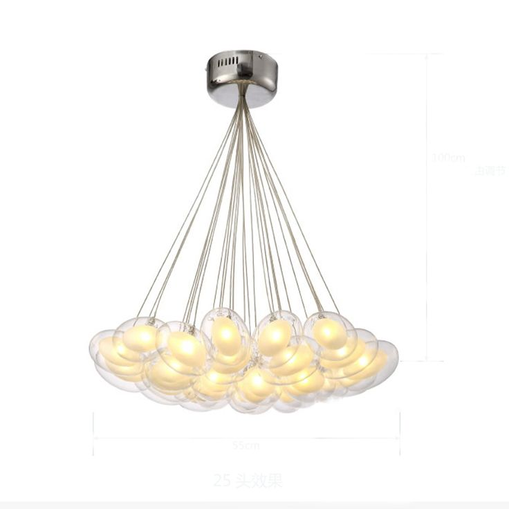 Cheap Light Trouble Buy Quality Gooseneck Directly From China Suppliers Led Pendant Lamp Modern Style Egg Glass Or