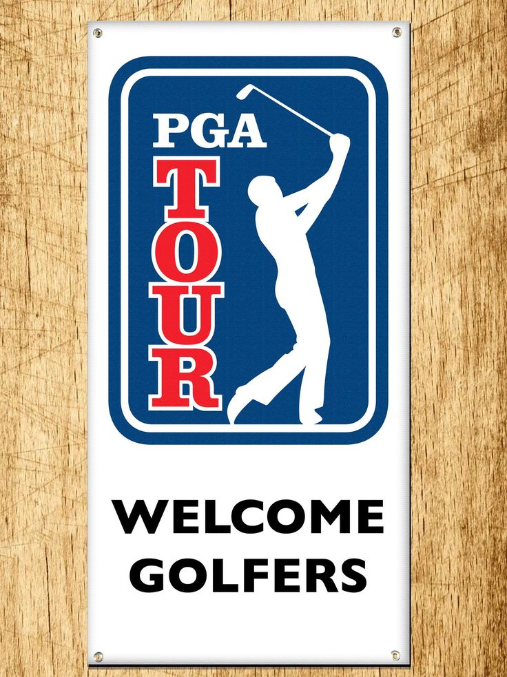 Excited to share the latest addition to my #etsy shop: PGA Golf Tour Banner 2ft x 4ft http://etsy.me/2tBqXCk #art #print #digital #blue #red #golf #pgatour #pgagolf #proshop