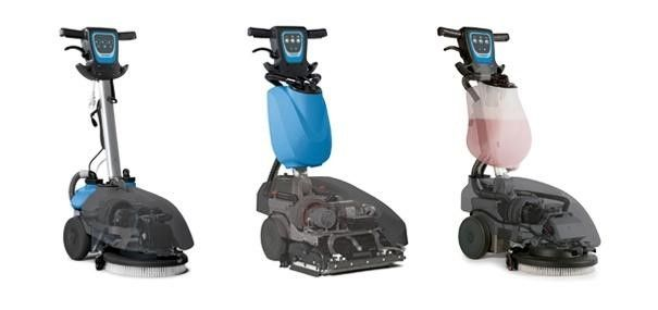 Genie removes deep-down dirt. Thanks to the combination of the vacuum motor and the squeegee, it ensures complete dirt collection and perfect drying