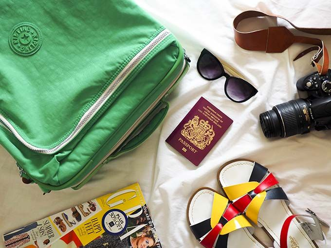 Packing For Our Holiday With Kipling Suitcases - Not Another Mummy Blog
