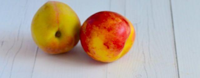 Gegrilde perziken met monchou - Uit Pauline's Keuken