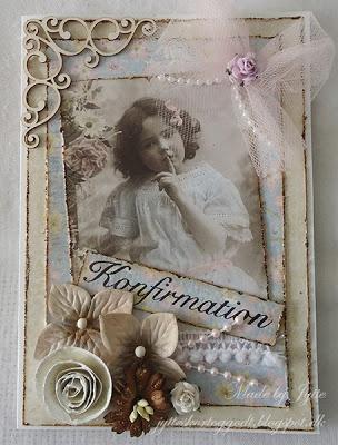 Kort og andet godt: Nok et konfirmationskort...