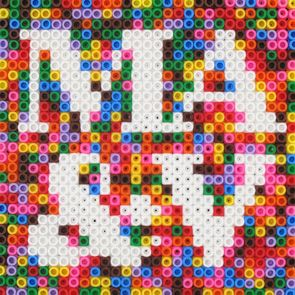 More Hama beads. Adore this!!: Grade Schools, Beads Letters, Beads Initials, Ads Perla Beads, Melty Beads, Perler Beads, Hama Beads, Perler Mites, Grooms Initials