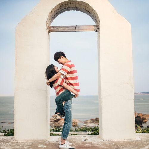 Imagen de couple, dating, and korean