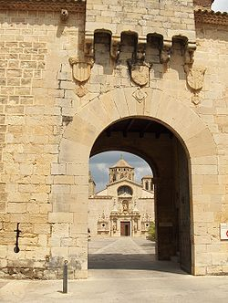 Tarragona Monasterio de Poblet - Puerta Dorada