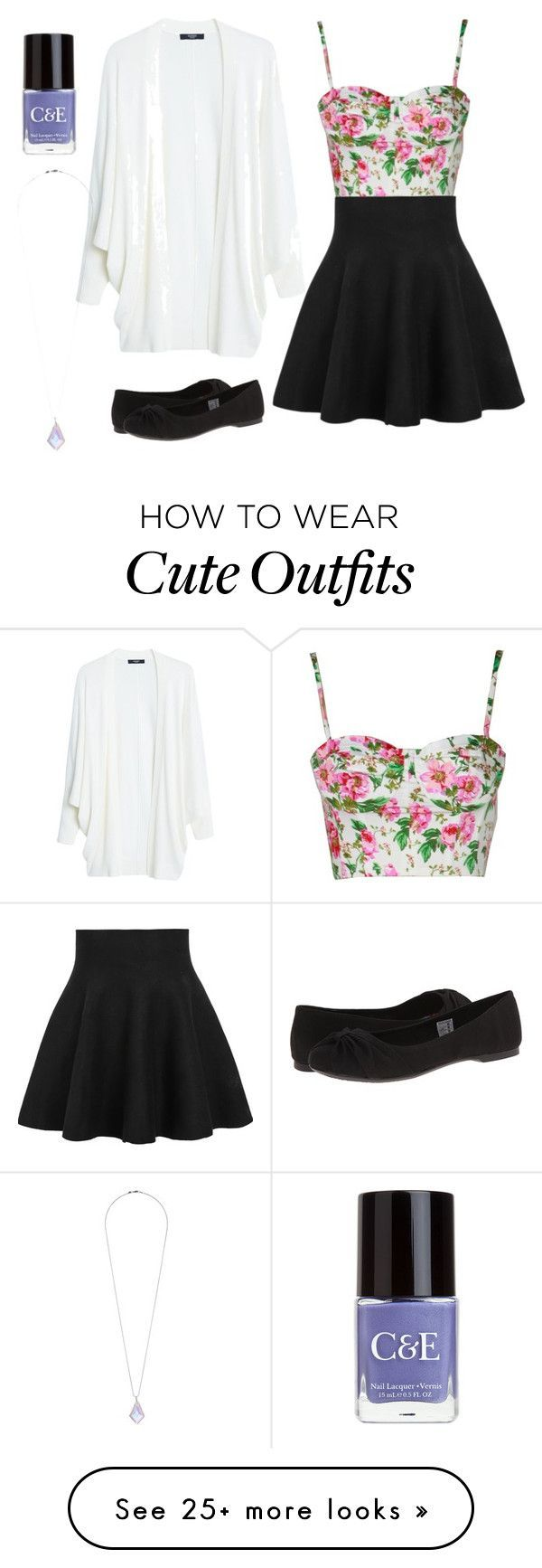"""""""Cute Outfit for Teens/Tweens!!!"""" by sparklecat102 on Polyvore featuring MANGO, Crabtree & Evelyn, Rocket Dog and Miss Selfridge"""