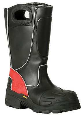 Size 8-1/2 Insulated Firefighter Boots, Men's, Black, Composite Toe, M, Fire-Dex