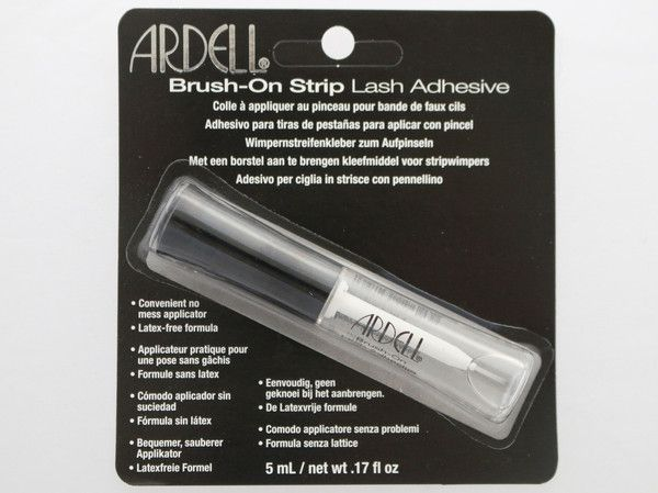Love this ardell lash glue! I rode many roller coaster rides and my lashes stayed on and in place