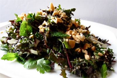Trying to recreate Houston's kale salad with peanut dressing tonight! Hope this is close because it's incredible at the restaurant