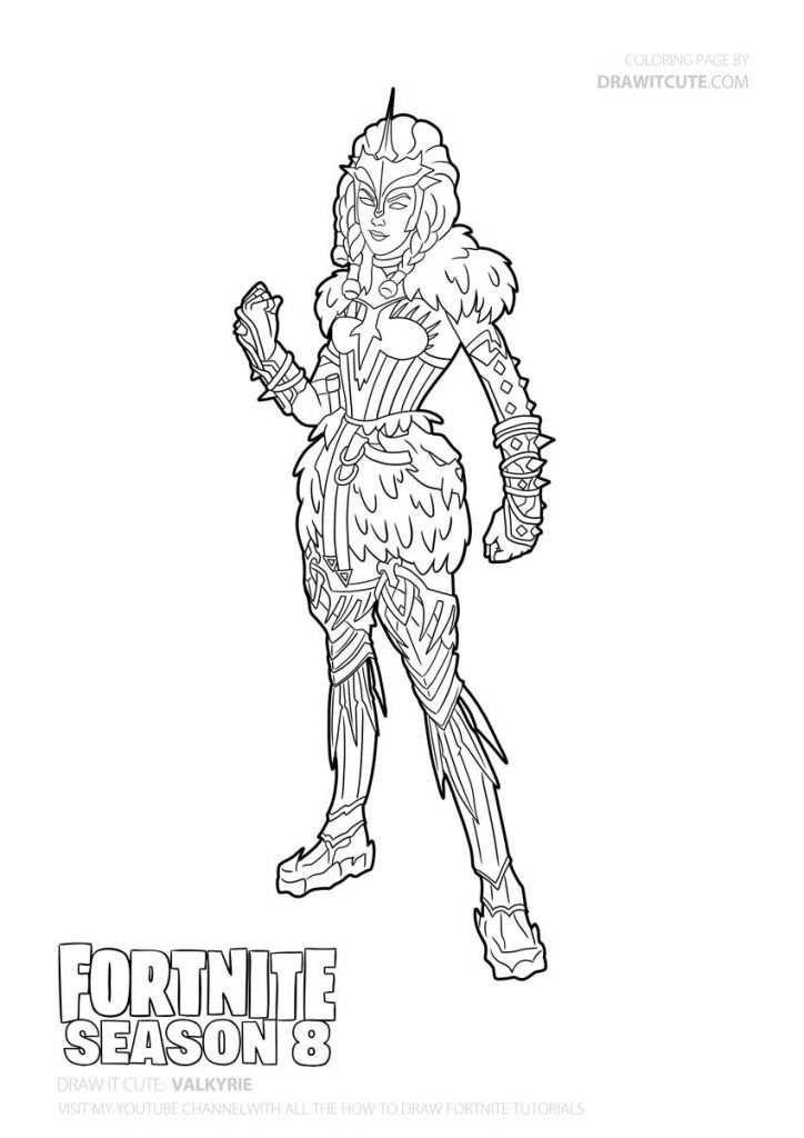 Valkyrie Skin Coloring Page By Draw It Cute Coloring Pages Bear Coloring Pages Cute Coloring Pages
