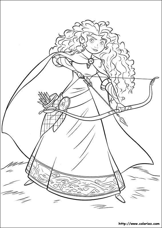 Dessin A Imprimer Princesse