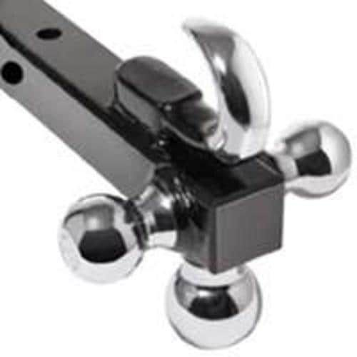 Reese 7031400 Draw Bar Trailer Hitch Ball Mount, 8, Grey chrome