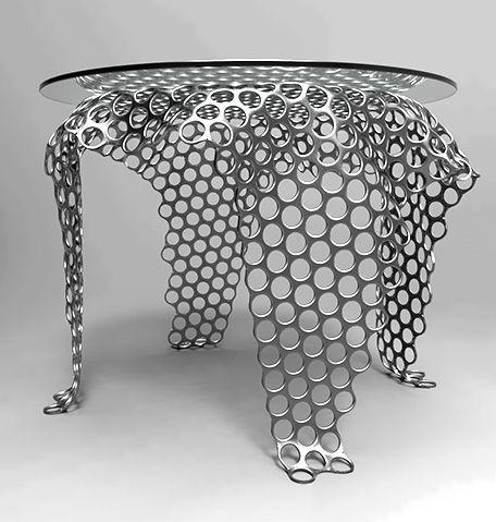Superior Mesh Coffee Table Concept / Svilen Gamolov Amazing Design