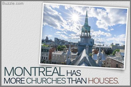 Montreal has more churches