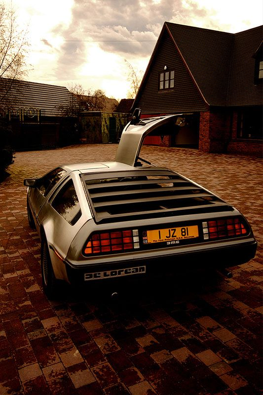 DeLorean for my hubby