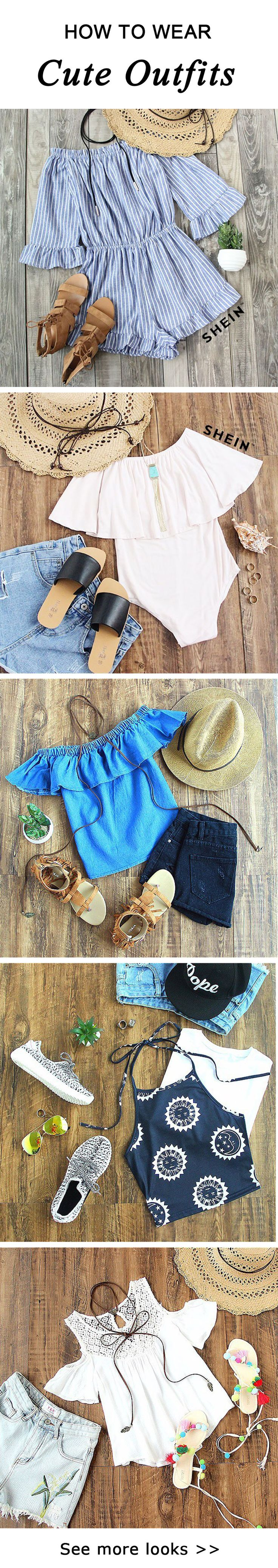 How to wear cute outfit