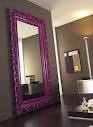 PURPLE FULL LENGTH MIRROR