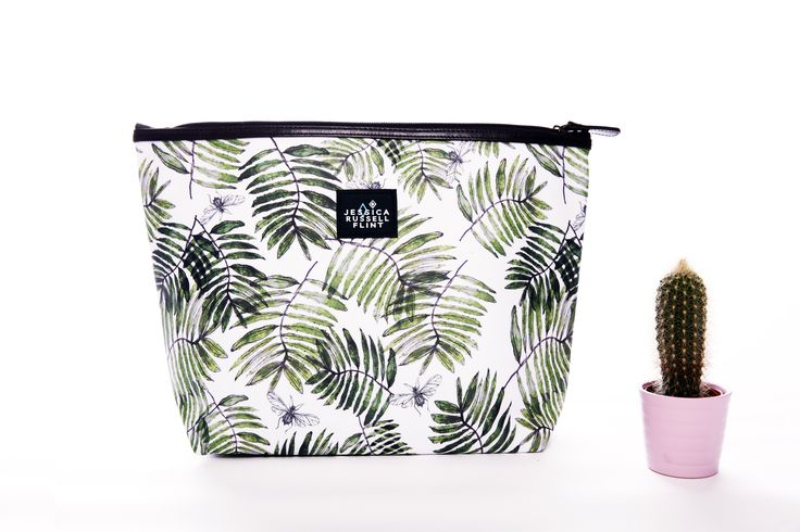 Trendwatch: Palm leaf giant washbag  www.jessicarussellflint.co.uk