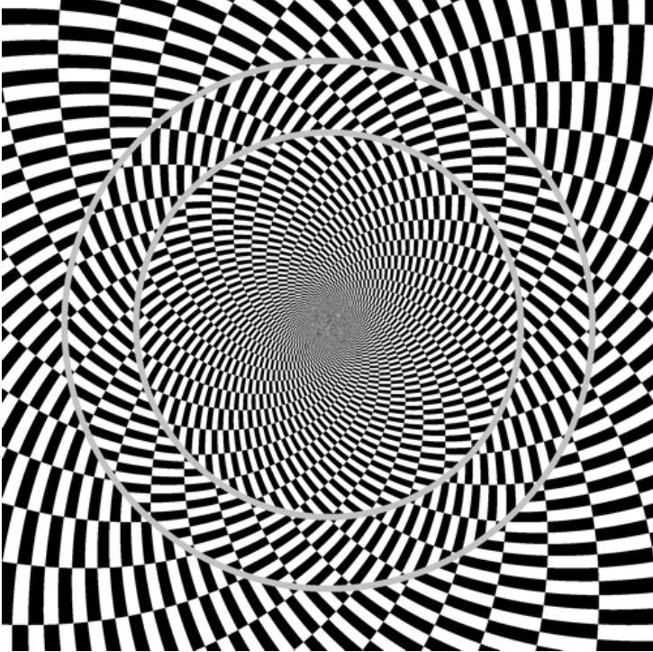 eye illusions distortion - 725×723