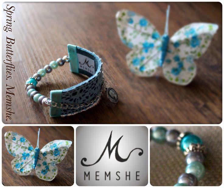 Memshe / leather bracelet for her / SS15