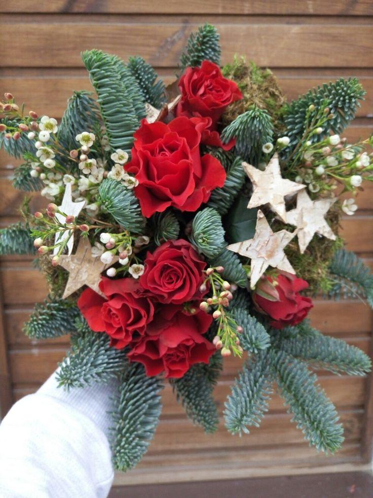 Букет с хвоей красноярск, доставка цветов
