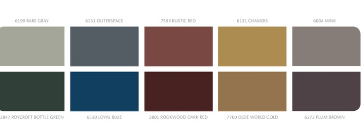 Sherwin williams palette characterized by hues that are Masculine paint colors