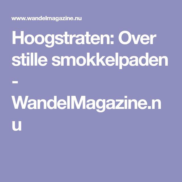 Hoogstraten: Over stille smokkelpaden - WandelMagazine.nu